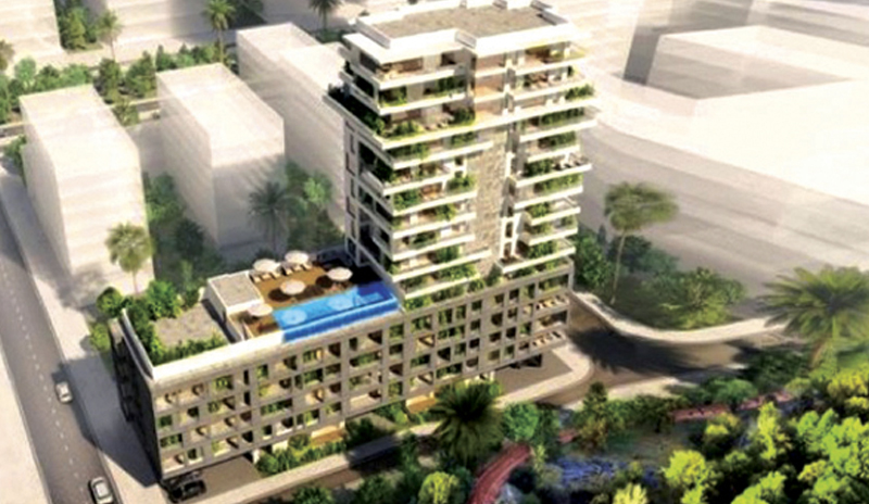 Zone Casa Anfa : Luxuria Tower ou le (très) haut standing by CGI