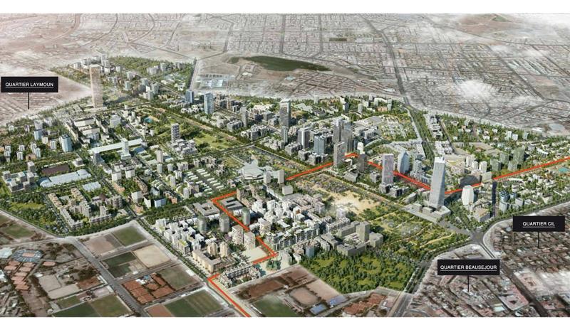 Casa Anfa : Exit l'aéroport et place désormais au quartier résidentiel !