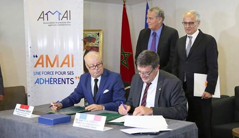 Agences immobilières : belles perspectives de partenariat entre l'AMAI et la FNAIM